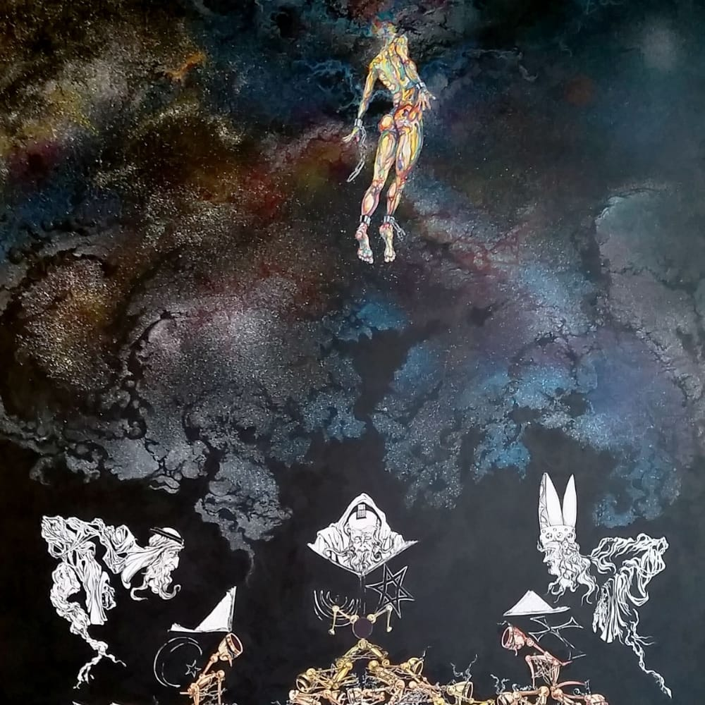 ascention stars floating religion