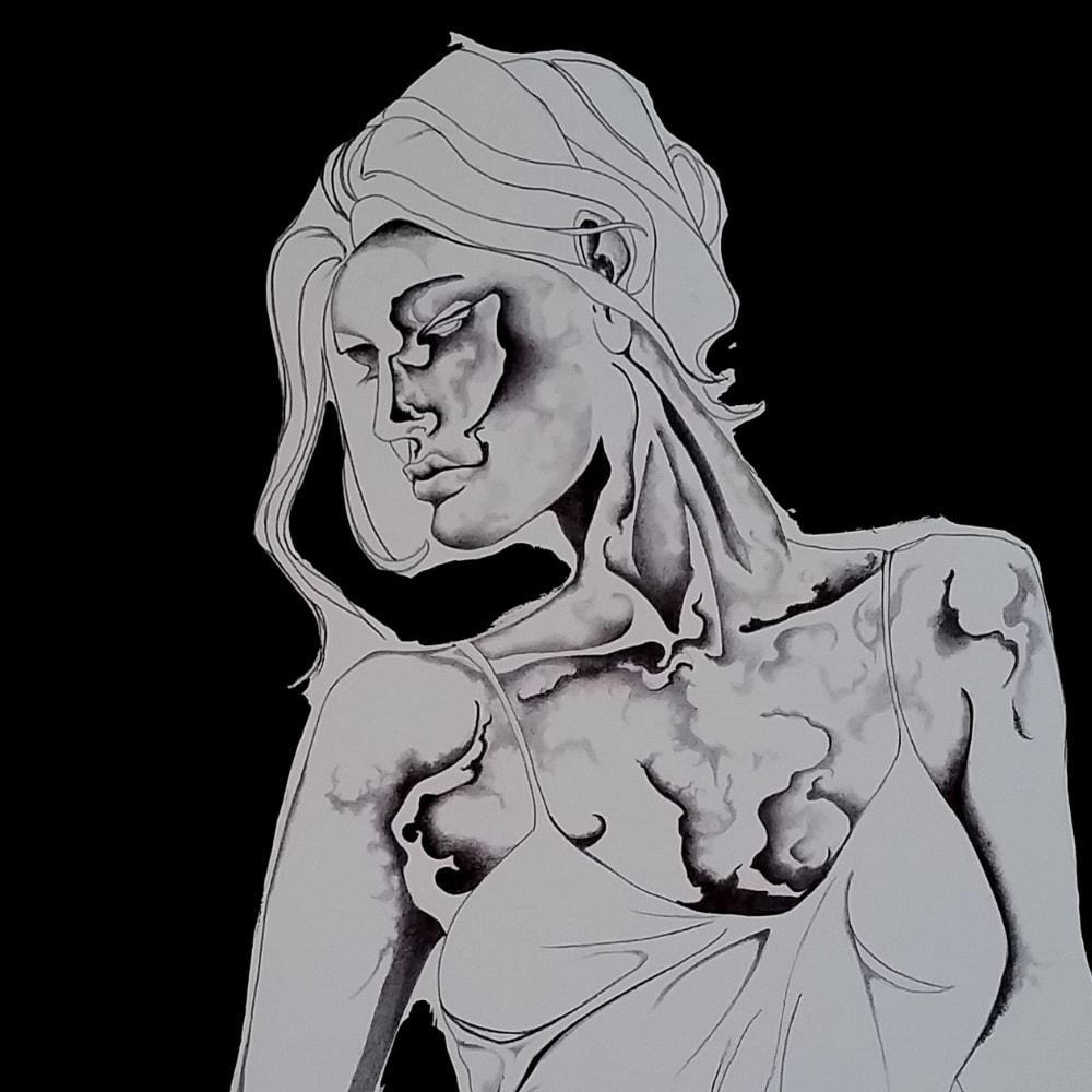 jack a lynn greyscale drawing